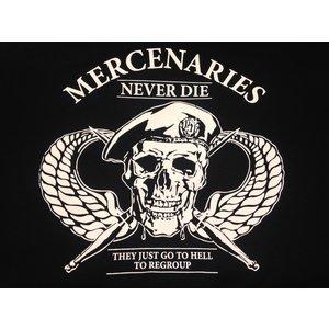 Poco Miltary Mercenaries Never Die T-Shirt (Black)