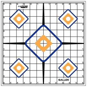 Allen Company Allen Ez-Aim Sight In Target (12 Pack) Paper #15203