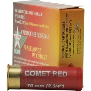 Truflare TruFlare 12 Gauge Red Signal Flare (5 Pack)