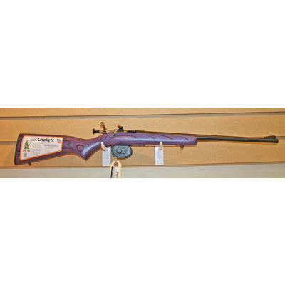 Keystone Crickett 22LR Single Shot Youth Rifle (Purple Laminate) NEW