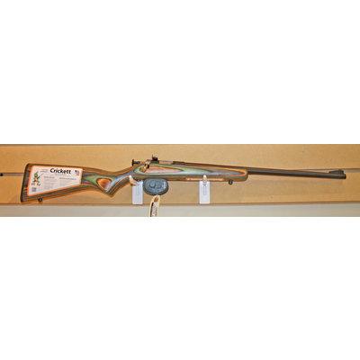 Keystone Crickett 22LR Single Shot Youth Rifle (Camo Laminate) NEW