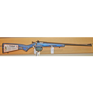 Keystone Crickett 22LR Single Shot Youth Rifle (Blue Laminate) NEW