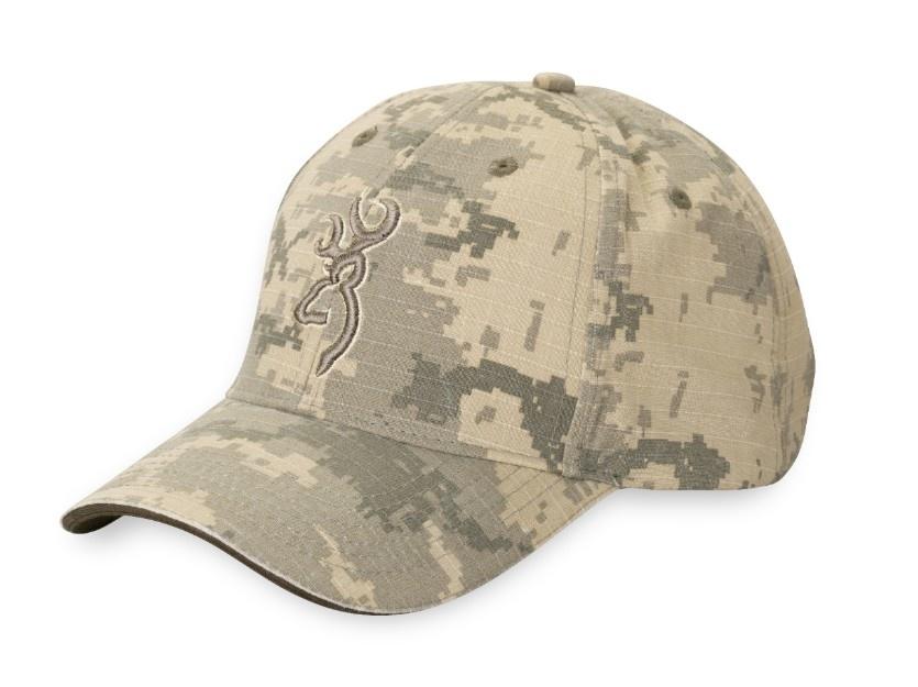 0ef6382c917348 Browning Logo Baseball Cap - Digital Desert Camo (ACU) - Poco Military