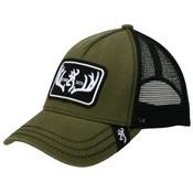 Browning Browning Logo Baseball Cap -Typical Loden (Mesh, Olive Drab)