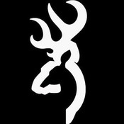 Browning Browning Logo Decal (White) 6""