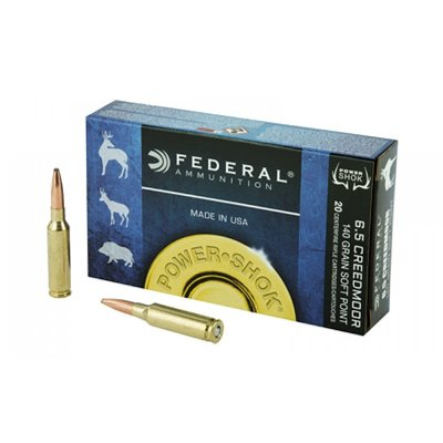 Federal Federal 6.5 Creedmoor (140 Grain SP) 65CRDB
