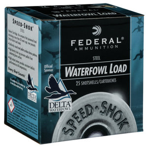 "Federal Federal 10 Gauge SPEED Shok Waterfowl (3.5"" / 1.5 oz / T Shot) #WF107T"