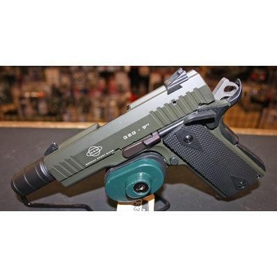GSG GSG 922 Pistol (OD) w/ Fake Supressor