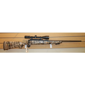 Savage Axis 270 (CAMO) w/ Bushnell Elite 4200 Scope & 2 Mags
