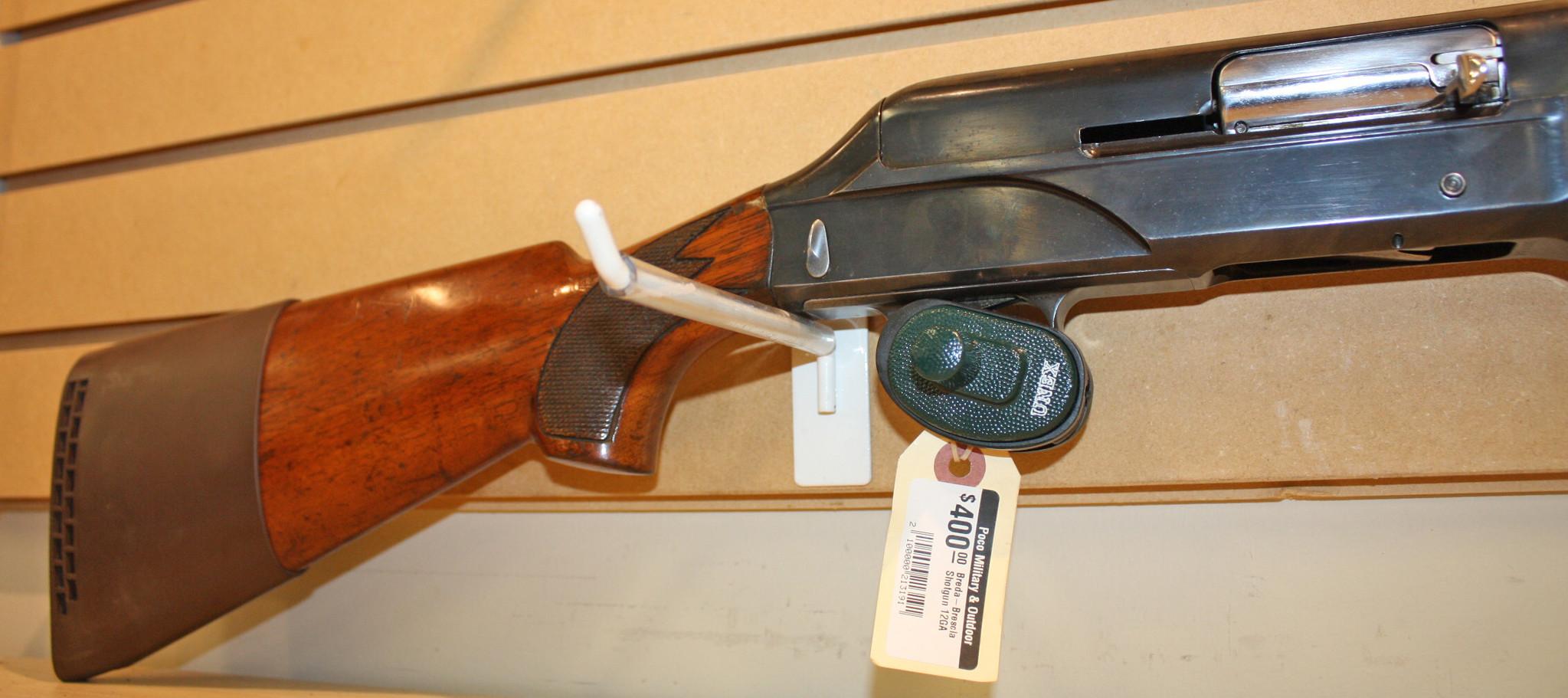 Breda-Brescia Shotgun 12GA - Poco Military