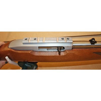 Consignment Ruger 10/22 Wood / S/S .22 rifle (W/ Tasco Scope)