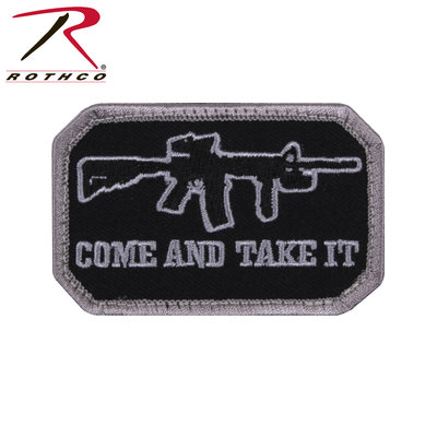 Rothco Come and Take It Patch (Velcro) AR / M4
