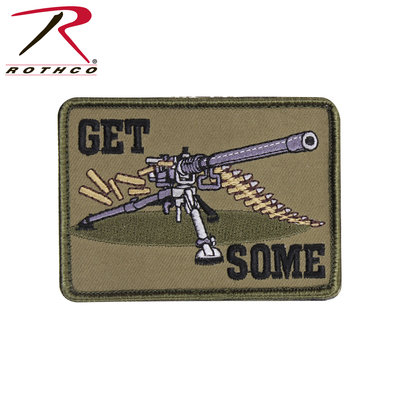 Rothco Get Some Patch (Machine Gun) Velcro