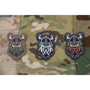Milspec Monkey Viking Head 1 Patch (Horns)