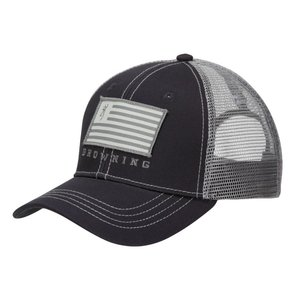 Browning Browning Patriot Slate/Grey Cap (Trucker)