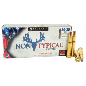 Federal Federal Non-Typical Whitetail 30-30 Winchester 170 Grain Soft Point (#3030DT170)