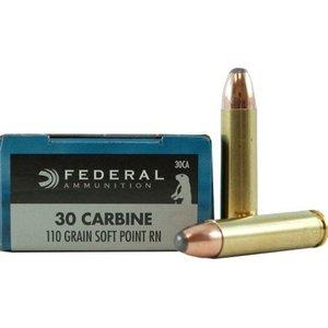 Federal Federal 30 Carbine (110 Grain SP RN) #30CA