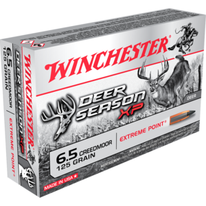 Winchester Winchester 6.5 Creedmoor 125 Grain (XP Dear Season) #X65DS