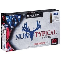 Federal Federal 308 WIN SP 180 Grain (Non-Typical Whitetail) 308DT180
