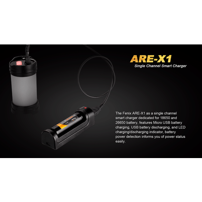 Fenix Fenix ARE-X1 Single Channel Smart Charger