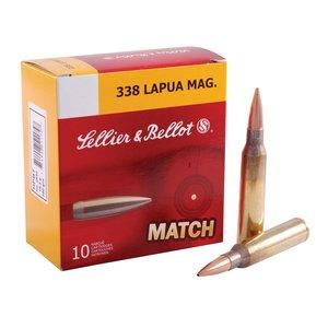 Sellier & Bellot Sellier & Bellot Match 338 Lapua Magnum 250 Grain Hollow Point BT (#2650)