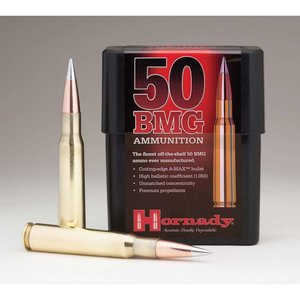 Hornady Hornady 50 BMG 750 Grain A-Max (#8270)