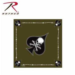 "Rothco Death Spade Bandana (22"" x 22"") Cotton"
