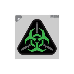 Milspec Monkey Outbreak Response Decal (Green)