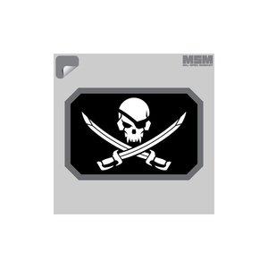Milspec Monkey Pirate Skull Flag Decal