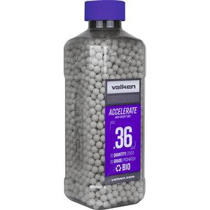 Valken Valken Accelerate 0.36 Gram Bio Airsoft BBs (2500ct.)