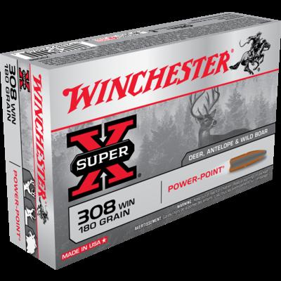 Winchester Winchester 308 Win 180 Grain Power-Point (X3086)