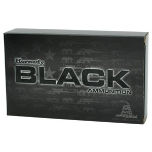 Hornady Hornaday BLACK 5.56 NATO (62 Grain) FMJ
