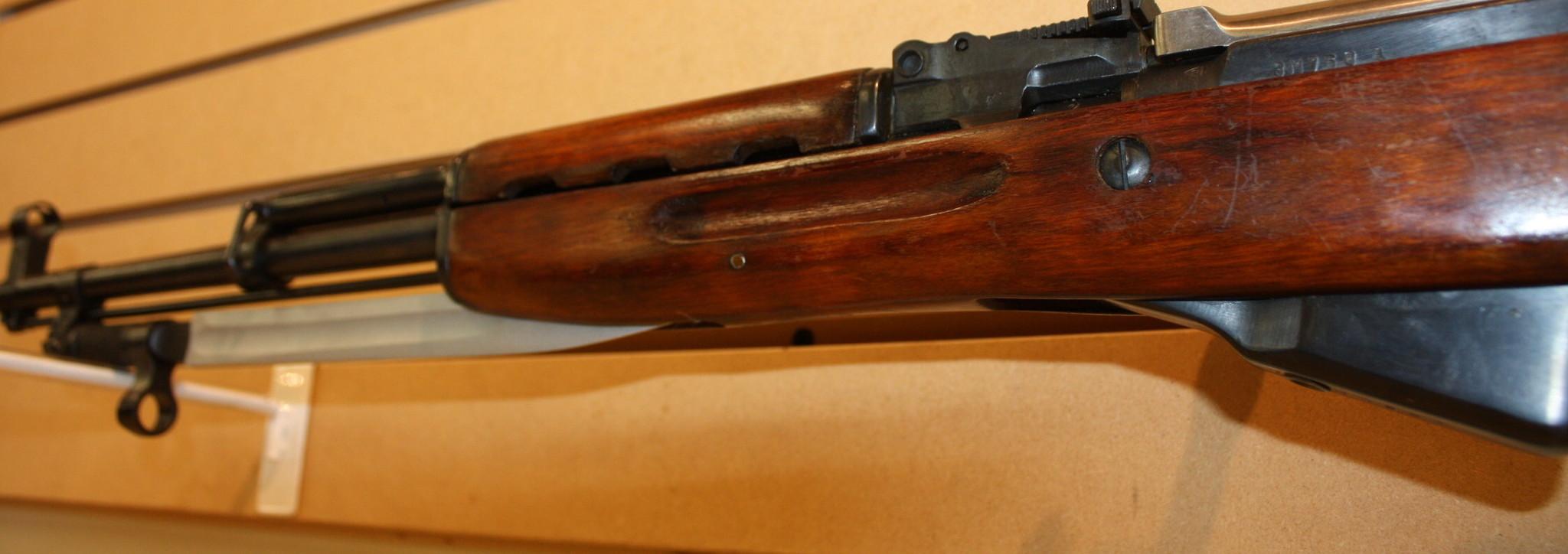 SKS Russian Rifle (1954r) w/ Bayonet - Poco Military