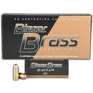 Blazer/CCI Blazer 380 AUTO (95 Grain FMJ) - 50 Rds. #5202