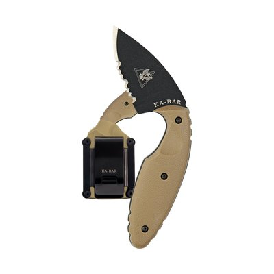KA-Bar KA-BAR TDI Small Knife (01-1477CB) Coyote Brown