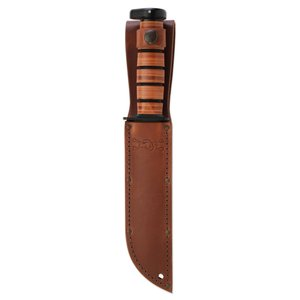 KA-Bar KA-Bar Brown Leather Dog's Head Sheath (1317S)