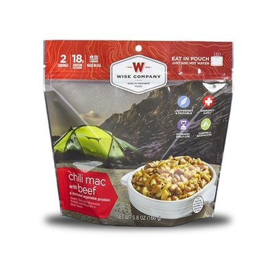 Wise Wise Outdoor Meal - Chili Mac With Beef (166G)