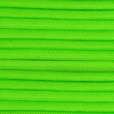 World Famous World Famous 550 Paracord 100ft Safety Green