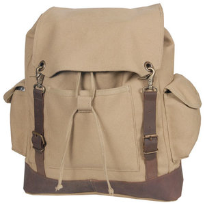 World Famous World Famous KHAKI Heritage Laptop Canvas Pack (#1010-KH)