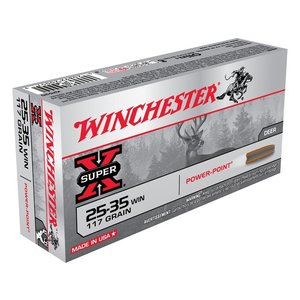 Winchester Winchester Super-X 25-35 Winchester 117 Grain Power Point (#X2525)