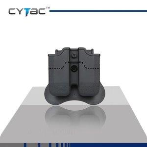 Cytac Cytac Beretta / Ruger SR9 / Taurus Mag Double Pouch (CY-MP