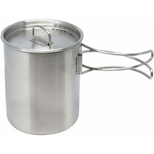 North 49 North 49 Stainless Mug-Pot with Lid (#691)