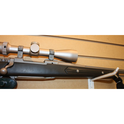 Consignment Ruger M77 (6.5 Cred) w/ Burris Optic, Custom Barrel, Trigger
