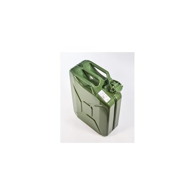 Canada Ammo Premium Steel Jerry GAS Can - Army Green - 20L