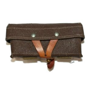 Russian Military Surplus SKS Leather Pouch (SINGLE)