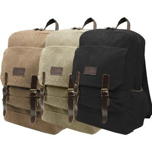 World Famous World Famous Alkea Canvas Day Pack - Tan (#1017-TAN)