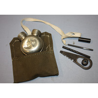 Russian Military Surplus Surplus Mosin Nagant Cleaning Kit (W/ OIl & Cotton Pouch)