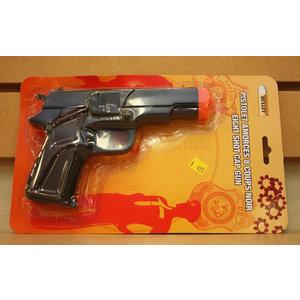 Bullet Bullet CAP Pistol (Brown Grips)