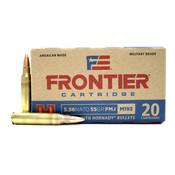 Hornady Hornady Frontier 5.56x45 NATO FMJ (FR200) 55 Grain (20 Rd)