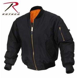 Rothco Rothco Soft Shell Enhanced MA-1 Jacket (Black)